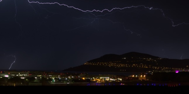 Thunderstorm at Cannes